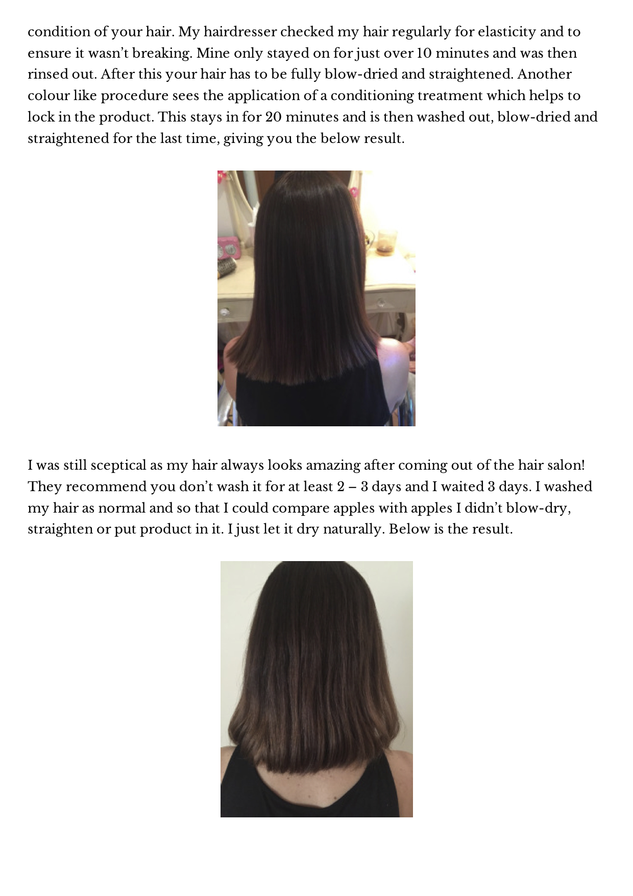 Bio Ionic Permanent Hair Straightening Retex System