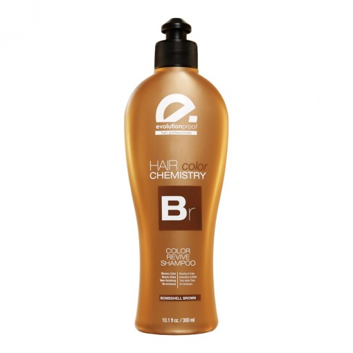 Hair Color Chemistry Bombshell Brown Shampoo